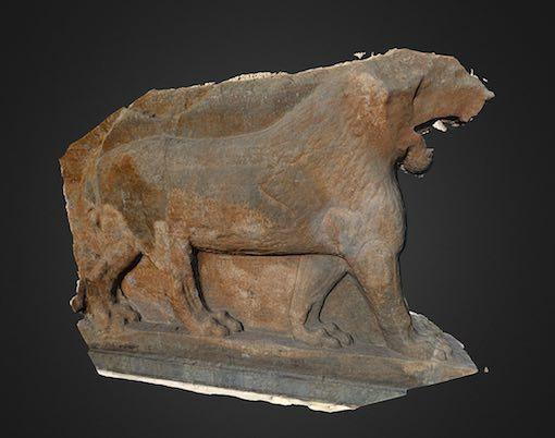 Lion of Mosul recreated with photogrammetry
