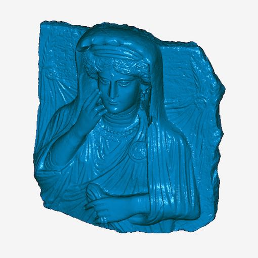 3D scan of Palymra relief